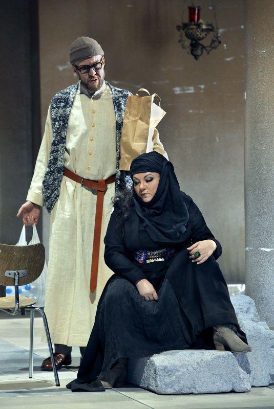 Scène uit Parsifal. (© Bayreuther Festspiele / Enrico Nawrath)