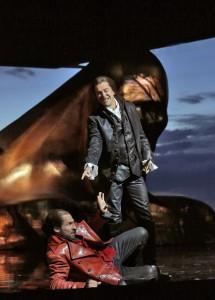 Scène uit Don Giovanni bij de Santa Fe Opera. (© Ken Howard)