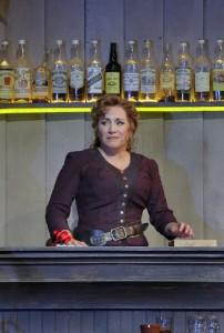 Scène uit La fanciulla del West bij de Santa Fe Opera. (© Ken Howard)