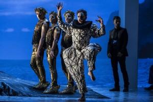 Scène uit Ariadne auf Naxos bij de Nederlandse Reisopera. (© Marco Borggreve)