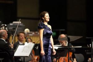 Diana Damrau zingt de Vier letzte Lieder (© Michael Kneffel).