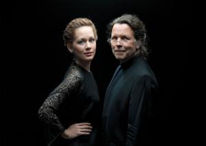 Anna Lucia Richter en Michael Gees. (© Hermann und Clärchen Baus)