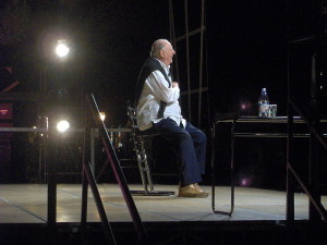 Dario Fo in 2007. (© William Domenichini / Creative Commons-licentie)