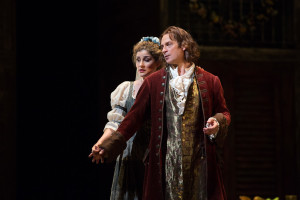 Serena Malfi en Simon Keenlyside in Don Giovanni. (© Marty Sohl / Metropolitan Opera)
