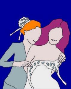 Campagnebeeld van Le nozze di Figaro bij Opera Zuid.