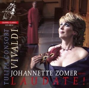 Het Vivaldi-programma van Johannette Zomer en het Tulipa Consort is uitgebracht bij Channel Classics.