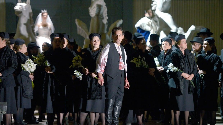 Juan Diego Flórez in Les Huguenots. (© Bettina Stöß)