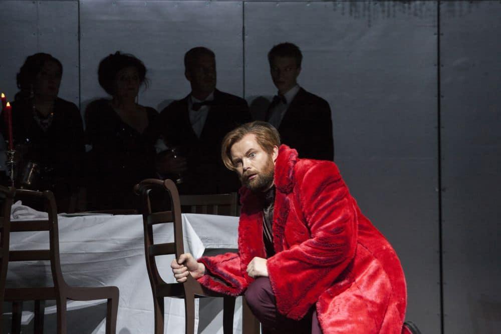 Hrólfur Saemundsson als Macbeth. (© Wil van Iersel)