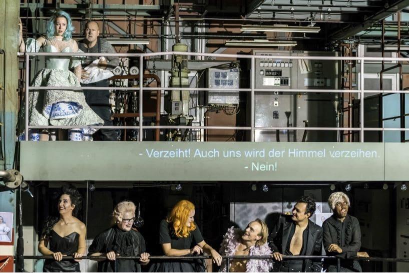 Scène uit Rigoletto in Luzern. (© Ingo Höhn)