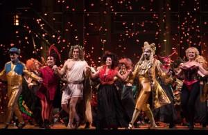 Scène uit Orphée aux enfers. (© Lorraine Wauters / Opéra Royal de Wallonie)
