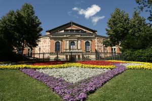 Het Festspielhaus in Bayreuth, waar Wieland na de Tweede Wereldoorlog het roer overnam.