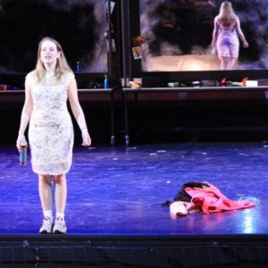Nikki Treurniet als Cendrillon. (© Dutch National Opera Academy)
