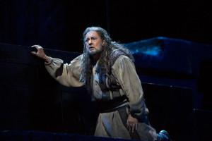 Plácido Domingo als Nabucco. (© Marty Sohl / Metropolitan Opera)