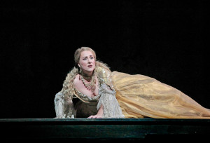Diana Damrau als Juliette. (© Ken Howard / Metropolitan Opera)