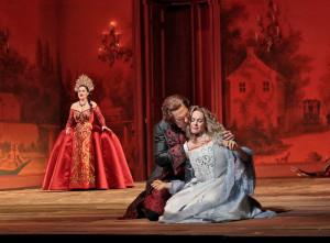 Scène uit Rusalka. (© Ken Howard / Metropolitan Opera)