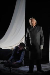 Urban Malmberg als Kurwenal in het Musiktheater im Revier. (© Forster)