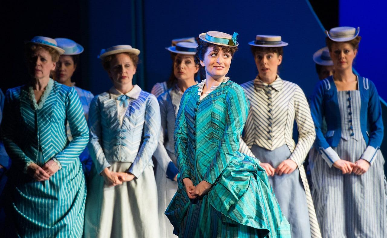 Soraya Mafi als Mabel  in The Pirates of Penzance bij de English National Opera. (© Tom Bowles)