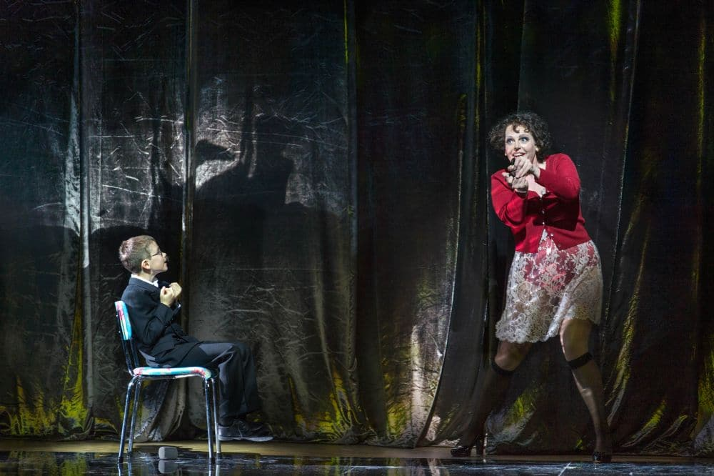 Jacob Jutte en Eva Maria Westbroek in Wozzeck bij De Nationale Opera. (© Ruth Walz)