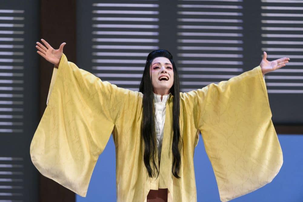 Ermonela Jaho als Cio-Cio-San. (© ROH / Bill Cooper)