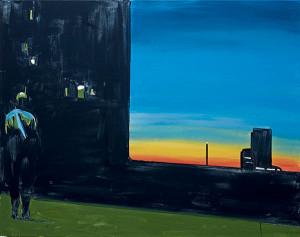 Beeld bij Infinite Now: Sunset van Koen van den Broek.