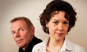 Thom Janssen en Lenneke Ruiten zijn te gast in de serie Edesche Liedrecitals. (© Emiel Janssen)