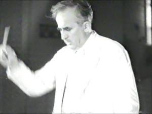 Manfred Gurlitt in 1951. (still uit een Japanse film)
