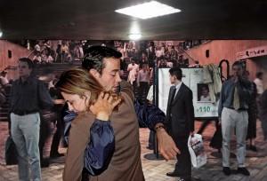 Publiciteitsbeeld van #tristanisolde. (© Ángel Marcos, La chute nº 16, 2000, c/o Pictoright Amsterdam 2016)