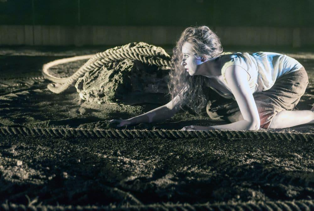 Magdalena Pluta als Arianna in Lamento d'Arianna. (© Hans van den Boogaard)